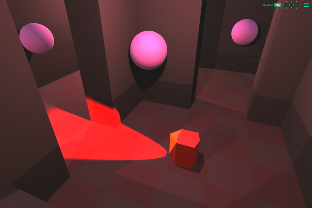 Lucid game screenshot 2 accessible game prototype use case